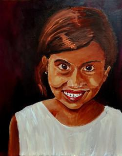 הילדה מג'ייפור עם העיניים החומות  - אקרי