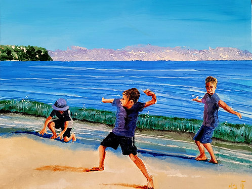 Children have their play on the seashore of worlds (4)
