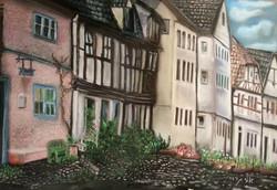 Quedlinburg, Germany - Pastel - 50 70 - 2014