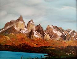 Torres del Paine - Acrylic - 40 50 - 2014