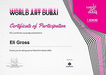 Eli Gross אישור השתתפות בתערוכה-page-001