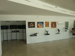 In one of my exhibitions