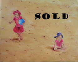 Sydney Manly beach - Acrylic SOLD