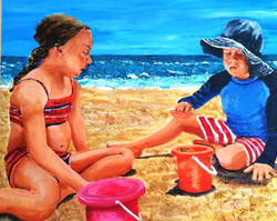 On the seashore of endless worlds children meet -2 (Rabindranath Tagore)