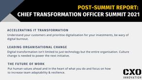 Post-Summit Report | Virtual Chief Transformation Officer Summit 2021
