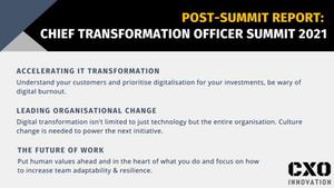 Post-Summit Report   Virtual Chief Transformation Officer Summit 2021