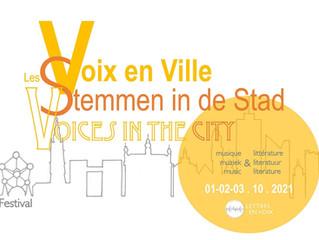 """Festival """"Les Voix en Ville"""" 2021"""