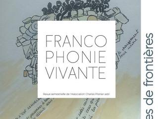 Revue Francophonie vivante 2018 n°1