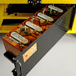 Swing-Out Battery Compartments
