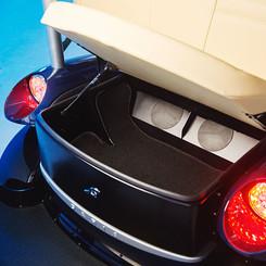 Hidden Under Seat Trunk