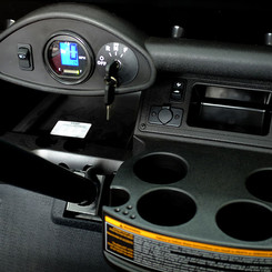 Digital Speedometer & Cup Holders