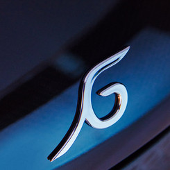 The Garia logo makes a sensual impression
