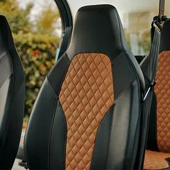 Premium Vegan Leather Upholstery