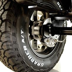 4 Wheel Disc Brakes & Motor Braking