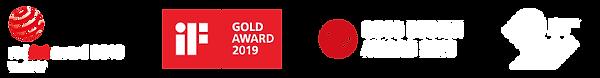 Design Award 2019 Red Dot Award 2018 Winner Good Design Award 2019 Fianlist 2019