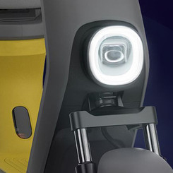 Halo-Shaped Headlight