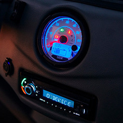Functional Lighted Dash