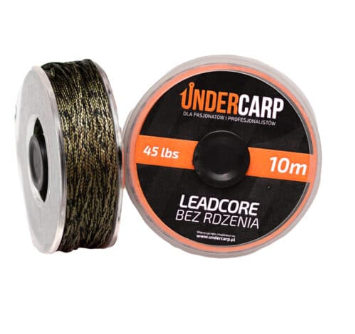 UnderCarp Leadcore bez Rdzenia 10M/45LBS Zielony