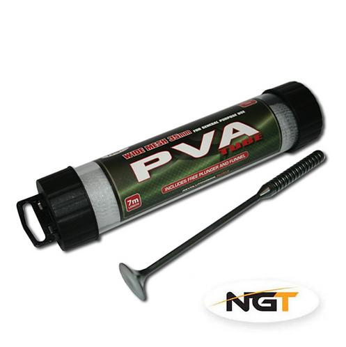 NGT Tunel PVA Wide Tube 35mm 7m z Popychaczem