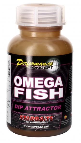 Starbaits OMEGA FISH Dip Atraktor 200ml