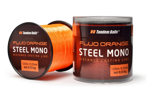 Tandem Baits Żyłka Mono Fluo Orange 0,35MM 1200M