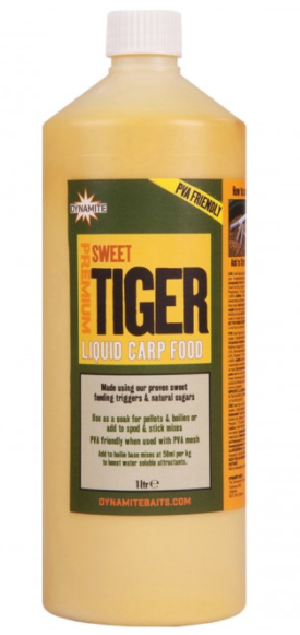 Dynamite Baits Sweet Tiger Liquid Carp Food 1L