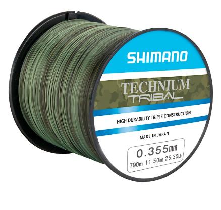 Shimano Technium TRIBAL 0,305mm 1100m 8,5kg 18,7lb