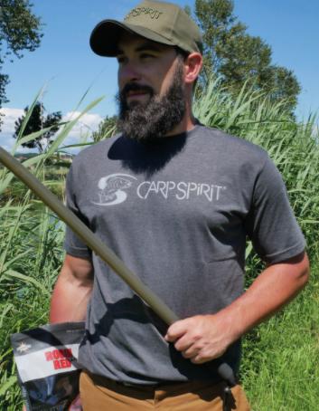 Carp Spirit T-Shirt Koszulka Charcoal XXL