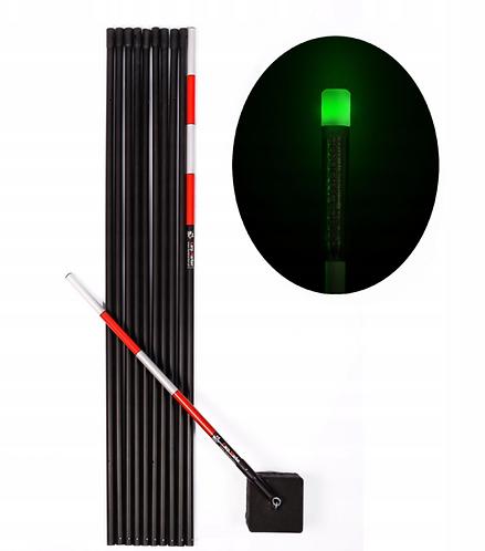 CARP MARKER Karpiowy 10m + Głowica LED Zielona