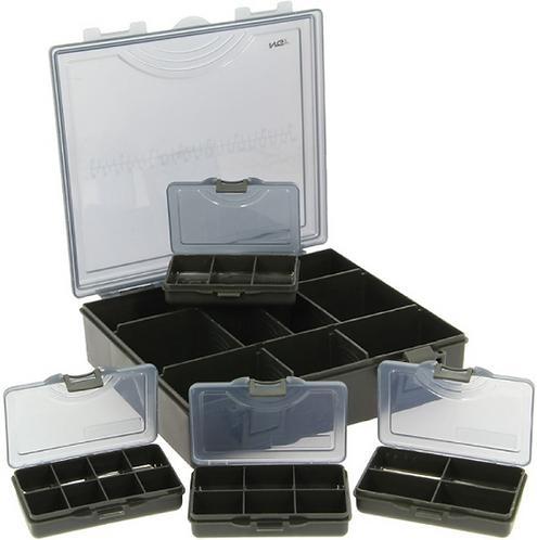 NGT Organizer Tackle Box Pudełko Piórnik 4+1