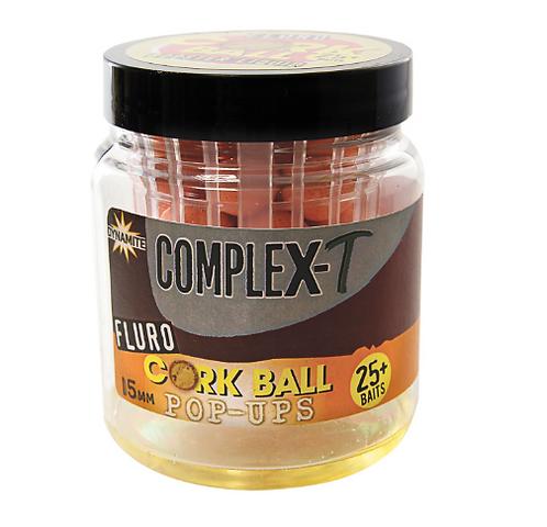 Dynamite Baits Complex-T Cork Ball Pop Up Flu 15mm