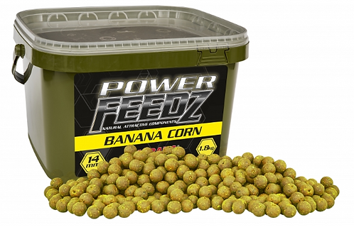 Starbaits Power Feedz Banana Corn Kulki 20mm 1,8kg
