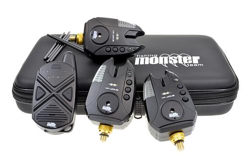 Monster Fishing Zestaw Sygnalizatorów MF-2014B 3+1