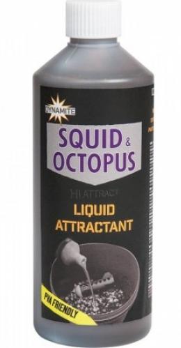 Dynamite Baits Squid Octopus Liquid 500ml