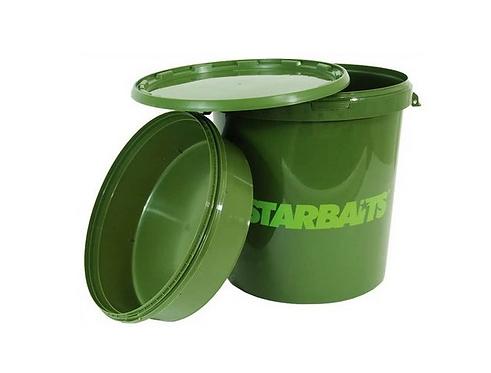 Starbaits Wiadro z Miską i Pokrywą Container 33L