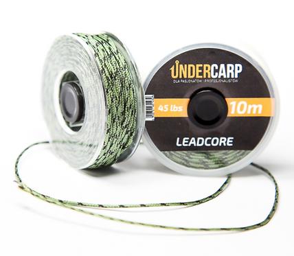 UnderCarp Leadcore 10M/45LBS Zielony