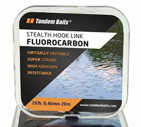Tandem Baits Stealth Fluorocarbon 20m 0,40mm 20lb