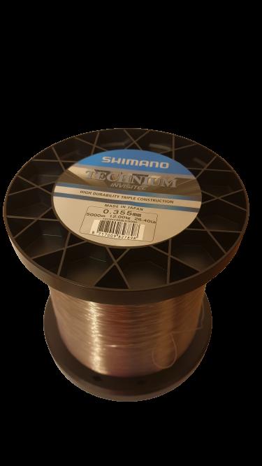 Shimano Technium INVISITEC 0,355mm 5000m 26,4 lb