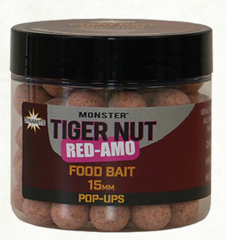 Dynamite Baits Red Amo Tiger Nut Pop Up 15mm