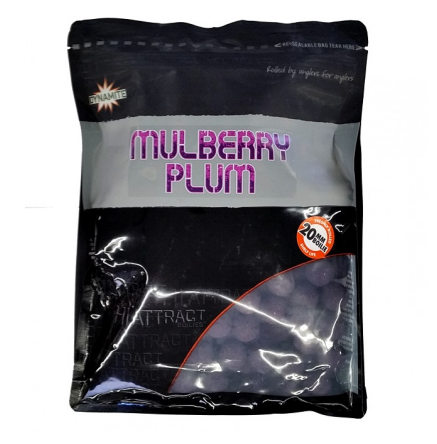Dynamite Baits Mulberry Plum Hi Attract 20mm 1kg