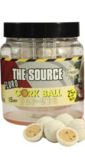 Dynamite Baits Source White Fluoro Cork Ball 15 mm