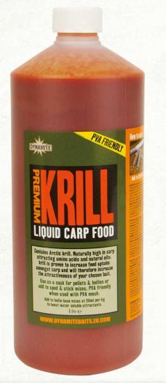 Dynamite Baits Krill Liquid Carp Food 1L