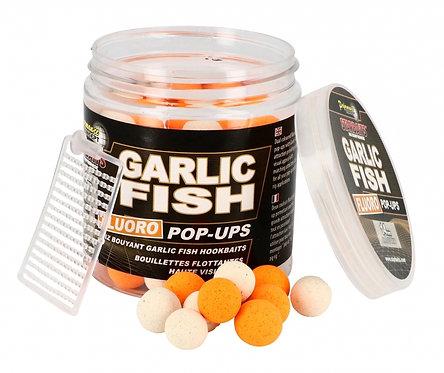 Starbaits Garlic Fish Kulki Fluo Pop Up 14mm 80gr