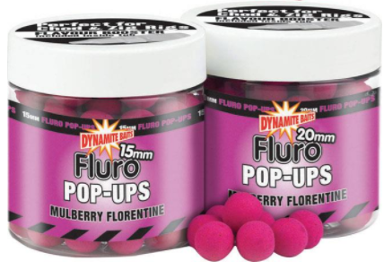 Dynamit Baits Mulberry Florentine Fluo Pup 15mm