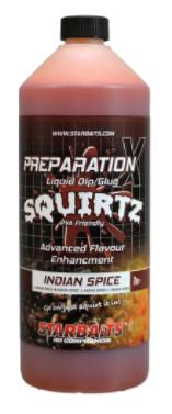 Starbaits Prep X Squirtz Indiana Spice 1L