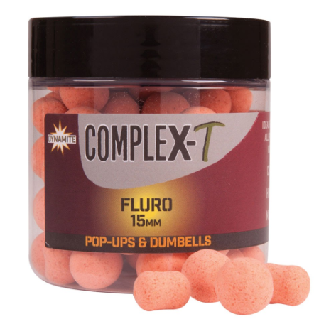 Dynamite Baits Complex-T Pop Up Fluo 15mm