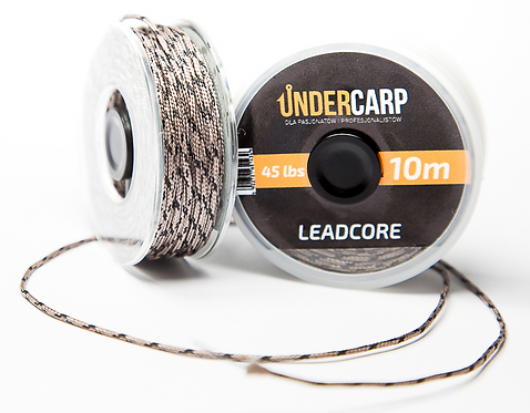 UnderCarp Leadcore 10M/45LBS Brązowy