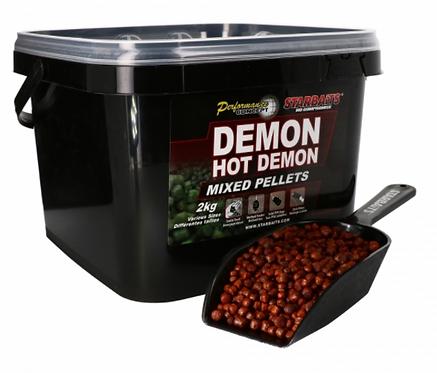Starbaits Hot Demon Pellet Mixed 2kg +Łyżka Nowość