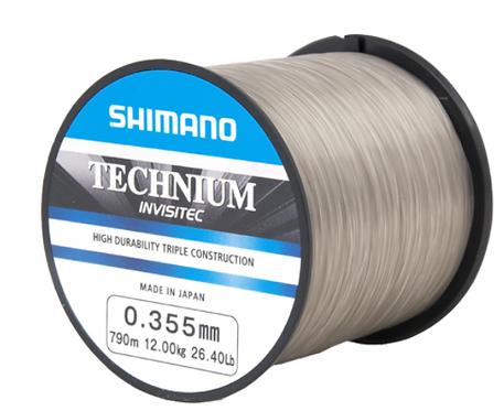 Shimano Technium INVISITEC 0,305mm 1100m 9kg