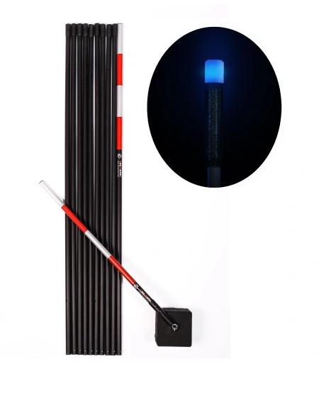 CARP MARKER Karpiowy 10m + Głowica LED Niebieska